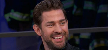 John Krasinski had an uncredited role as one of the monsters in 'A Quiet Place'