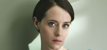 Claire Foy seethed with rage in an interview during the Kavanaugh hearing