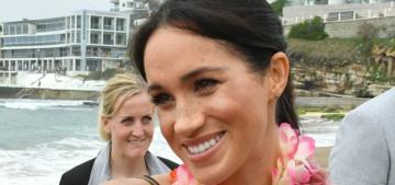 Duchess Meghan wears Martin Grant, Roksanda Ilinčić in Sydney, Australia
