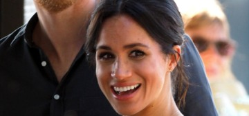 Duchess Meghan wore a gauzy Reformation dress in Fraser Island, Australia