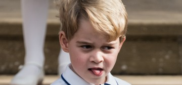 Prince William bragged about how Prince George 'loves' to dance, just like Diana