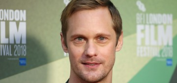Alex Skarsgard disses 'very competitive alpha dudes' who act like 'silverback gorillas'