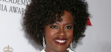 Viola Davis talks about how unusual it is to see her kissing Liam Neeson in 'Widows'