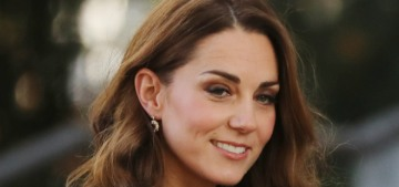 Duchess Kate made a surprise event in London, wore blue Jenny Packham