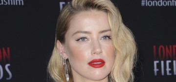 Amber Heard understands that she has better taste in women than men