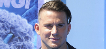 Channing Tatum steals 3/4 of his daughter's Reeses: monster?
