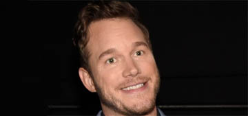 Chris Pratt, Anna Faris, their son and both significant others trick or treated