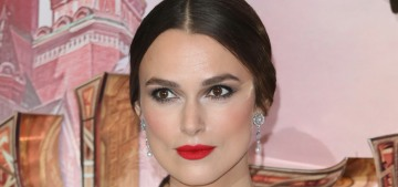 Keira Knightley in Chanel at the UK premiere of 'The Nutcracker': fab & frothy?
