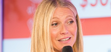 Gwyneth Paltrow shilled for Goop supplements while discussing perimenopause