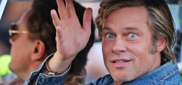Brad Pitt & Leo DiCaprio recorded a PSA encouraging people to vote