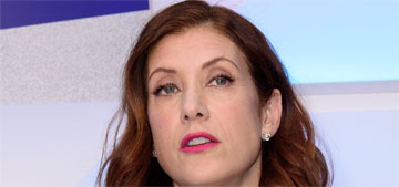 Kate Walsh uses hand cream on her split ends, you can do this?