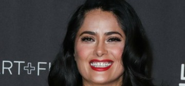 Salma Hayek wore some pukey Dynasty mess to the LACMA Art + Film gala