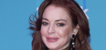 Lindsay Lohan wore Saint Laurent to the MTV EMAs: messy & cracked-out?
