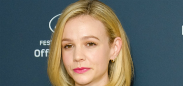 Carey Mulligan would rather work than be a stay at home mom, because it's 'too hard'