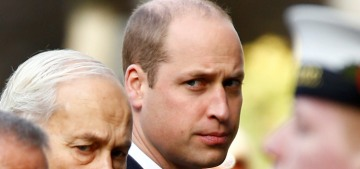 Prince William got pranked with a surprise Jägerbomb at a Remembrance service