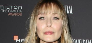 Elizabeth Olsen debuted her new bangs this weekend: love them or loathe them?