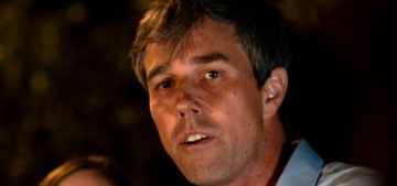 Beto O'Rourke lost a nail-biter to charisma vacuum Zodiac Killer Ted Cruz