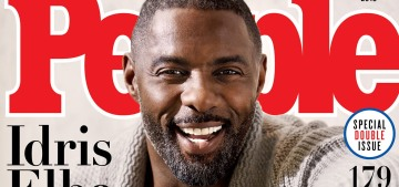 Let's take a moment to appreciate SMA Idris Elba, may he reign supreme