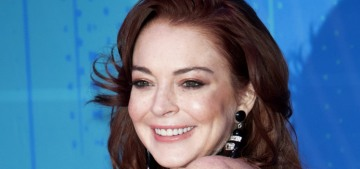 Lindsay Lohan's rep was trawling for endorsements with a 'substantial budget'