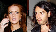 Even Russell Brand isn't interested in shagging Lindsay Lohan