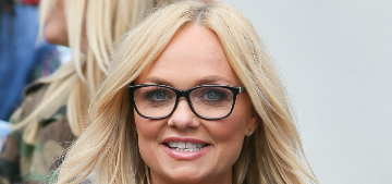 Emma Bunton once threw up and it went into Mel B's mouth