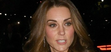 'Thrifty' Duchess Kate recycles her teal Jenny Packham gown for Tusk Trust event