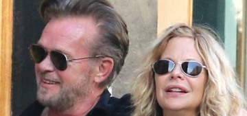 Meg Ryan & John Mellencamp are engaged after 7 years of on-and-off crusty love