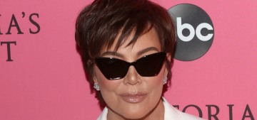Kris Jenner brought some Lingerie Mobster Realness to the Victoria's Secret show