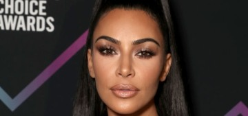 Kim Kardashian wore vintage Jean Paul Gaultier to the People's Choice Awards