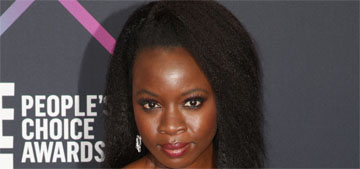 Danai Gurira wins Action Movie Star at the People's Choice Awards