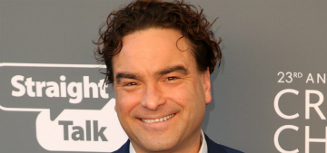 Johnny Galecki, 43, brought his 21-year-old girlfriend to the People's Choice Awards