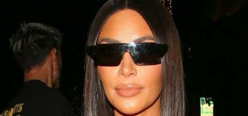 Kim Kardashian hired 'private firefighters' to save her home & her neighbors' homes