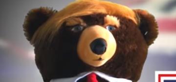 Please do not buy Trumpy Bear as an ironic gag gift for Christmas, okay?