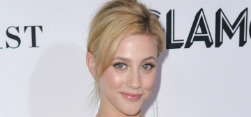 Lili Reinhart kept checking herself in the mirror all day & obsessing over small changes