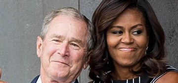 Michelle Obama: George W. Bush is 'a beautiful, funny, kind, sweet man'