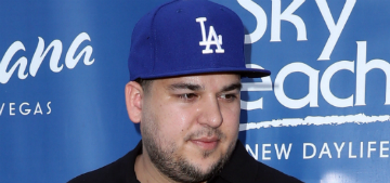 Rob Kardashian is broke and living with his mom, are you surprised?