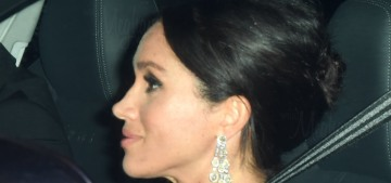 Duchess Meghan & Duchess Kate got glam for Prince Charles' birthday party