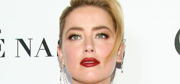 Amber Heard on Dr. Ford's testimony: 'Every woman I know watching was triggered'