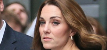 Duchess Kate repeats a teal Emilia Wickstead for a 'surprise' visit to the BBC