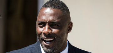 Idris Elba's 16 yo daughter is not impressed that her dad is SMA