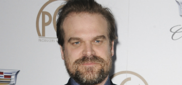David Harbour on body image: 'I'm totally tired of twigs'