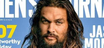 Jason Momoa: 'I get in trouble just like any other dumb f–king male'