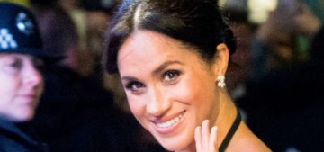 Duchess Meghan wore a sparkly two-piece Safiyaa to the Royal Variety Performance