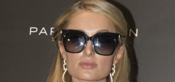 Paris Hilton will keep her tacky engagement ring because Chris Zylka didn't pay for it