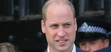 VF: Prince William & Harry had a 'falling out' one year ago about Meghan