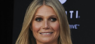 Gwyneth Paltrow deigns to make clothes for women larger than a size 8