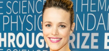 Rachel McAdams on motherhood at 39: 'I didn't want to do it before it was the right time'