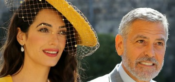 George & Amal Clooney think they'll be asked to be godparents to the Royal Polo Baby