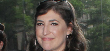 Mayim Bialik spent Thanksgiving with her ex, his new girlfriend and her kids and ex