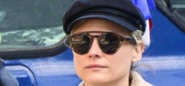Diane Kruger & Norman Reedus stepped out in NYC with their baby girl